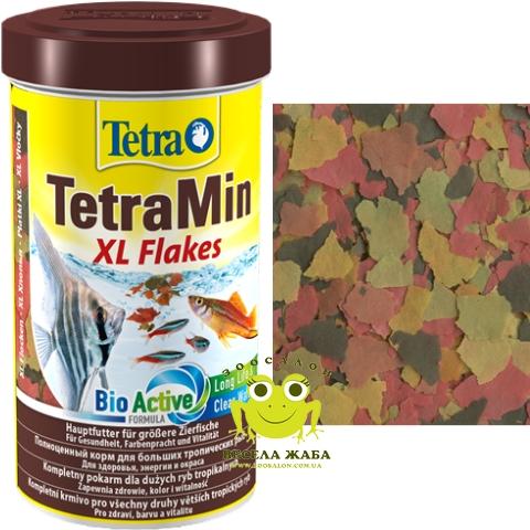 Корм Tetra MIN XL FLAKES большие хлопья развесной 1л АКЦИЯ