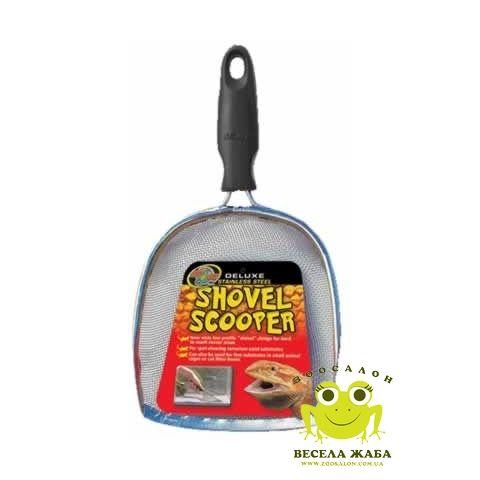 Сетчатый совок для песка средний Zoo Med Deluxe Shovel Scooper