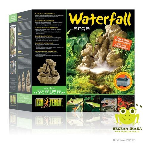 Поилка водопад для рептилий ExoTerra Water Fall большая