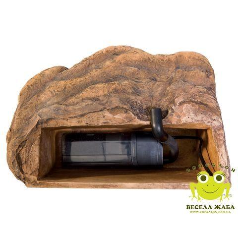 Фильтр островок для черепах с фильтром большой ExoTerra Turtle Cliff