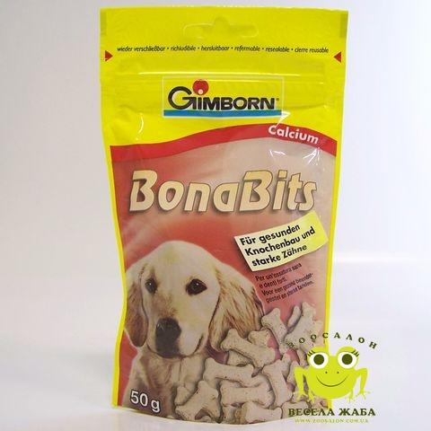 Витамины для собак с кальцием BonaBits Calcium 50 гр GIMBORN