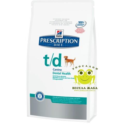 Лечебный корм для собак Hills Prescription Diet Canine Т/D