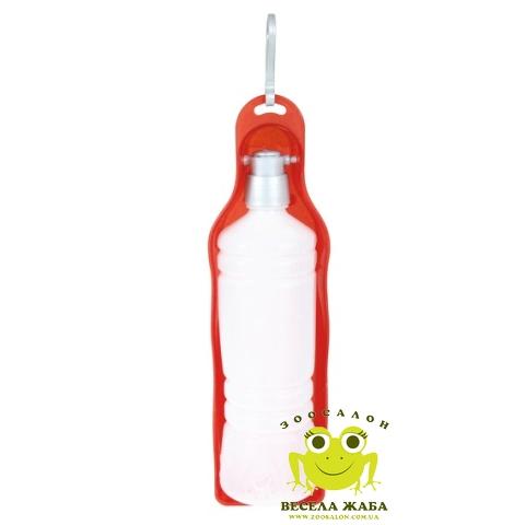 Бутылка дорожная для воды пластик Trixie
