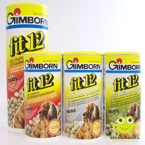 Поливитамины для собак Fit12 Gimborn