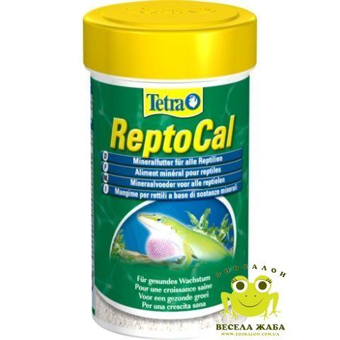 Корм для всех рептилий Tetrafauna ReptoCal 100ml
