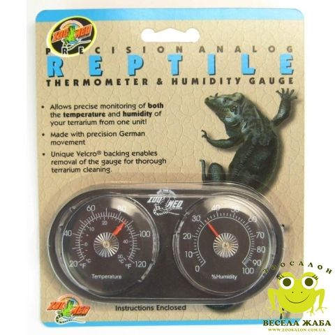 Гигрометр+термометр Zoo Med High Range Reptile Thermometer