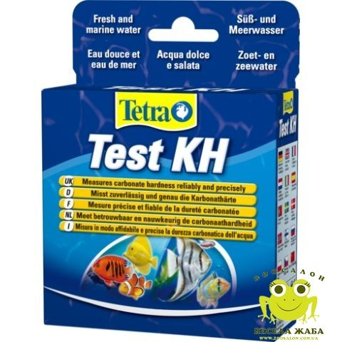 Тест на карбонатную жесткость TetraTest KH
