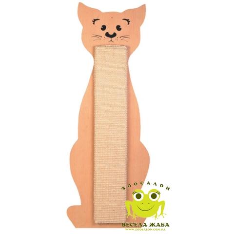 Когтеточка для котов плоская в форме кота Trixie