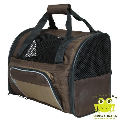 Рюкзак-переноска deLuxe Trixie для собак коричневый
