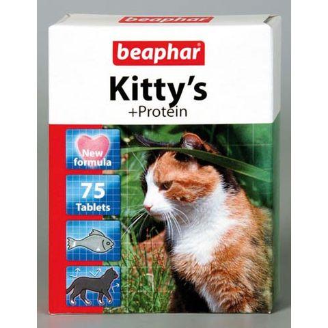 BEAPHAR Kitty's + Protein Лакомство для кошек с протеином