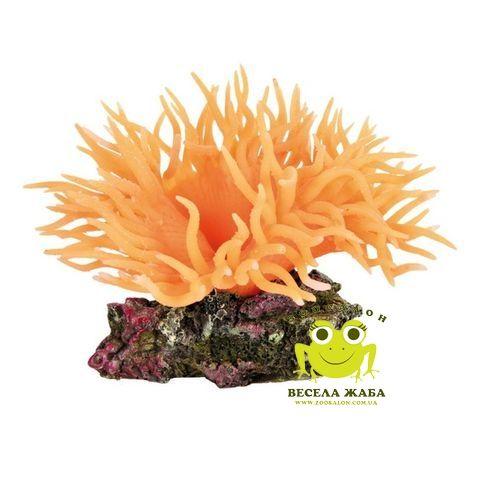 Декорация для аквариума Trixie Anemone оранжевая
