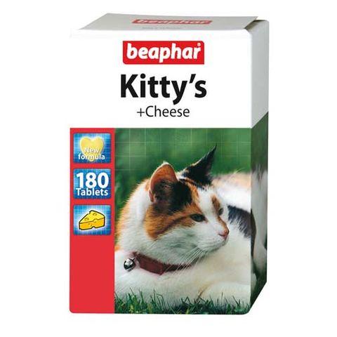 BEAPHAR Kitty's + Cheese лакомство для кошек