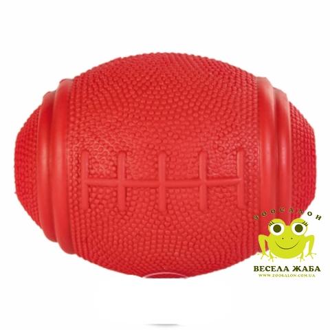 Игрушка для собак Trixie Мяч Регби литой 10см