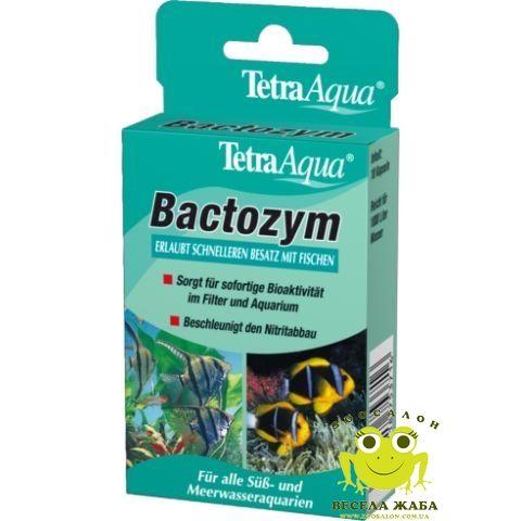 Препарат TetraAqua Bactozym 10 капсул на 1000 л