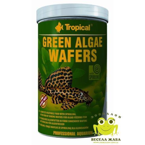 Корм Tropical Green Algae Wafers для донных рыб