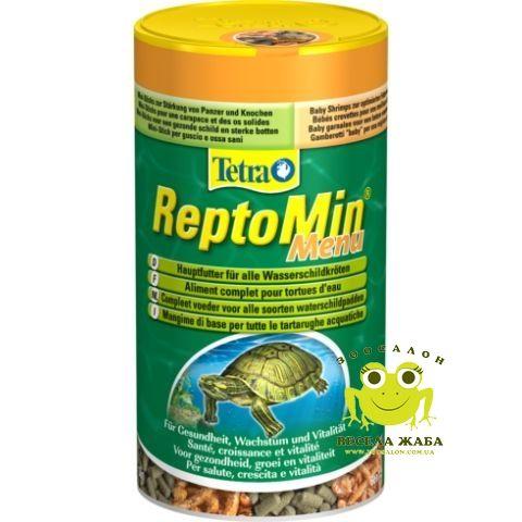 Основной корм для черепах Tetra ReptoMin Menu 250мл