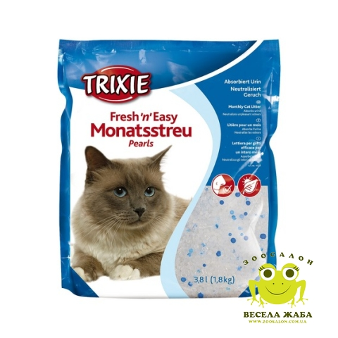 Наполнитель для кошочьего туалета Trixie Fresh and Easy pearls 3.8 л.