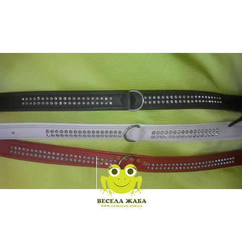 Ошейник для собак двойной Fashion Swarovski Trixie 18 мм