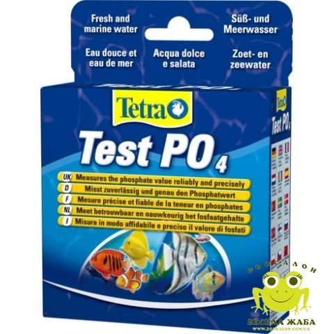 Тест на определение фосфатов Tetra Test PO4