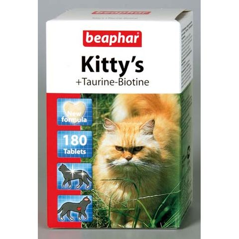 BEAPHAR Kitty's + Taurin + Biotin Лакомство для кошек