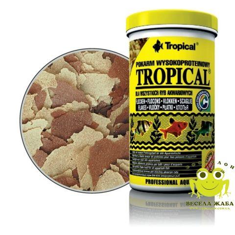 Корм Tropical Tropical для всех видов рыб