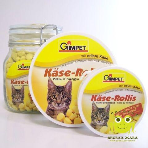 Сырные ролики для котов Gimpet KаseRollis
