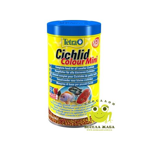 Корм Tetra Cichlid Colour Mini 500 ml
