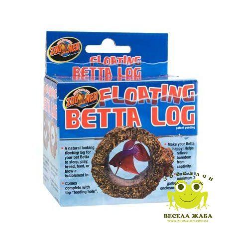 Плавающее укрытие для петушков Zoo Med Floating Betta Log