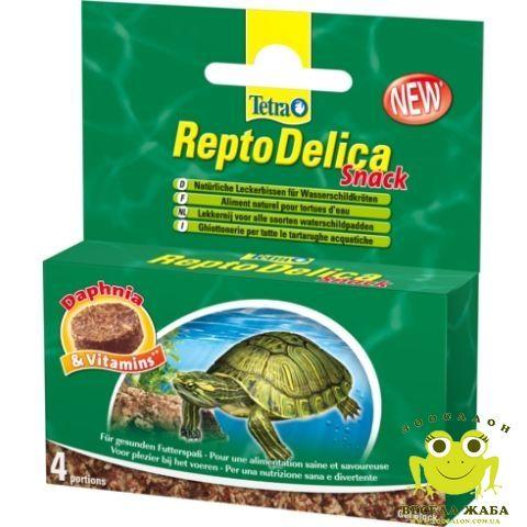 Лакомство для водных черепах Tetra ReptoDelica Snack 4х12гр*****
