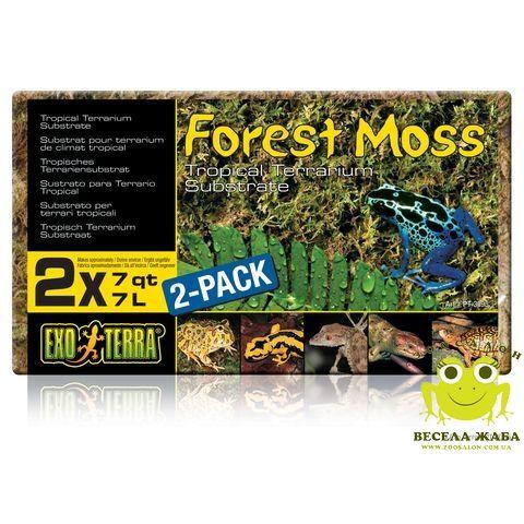 Наполнитель лесной мох для рептилий ExoTerra Forest Moss 500гр