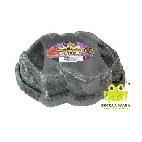 Поилка и кормушка для рептилий Zoo Med Combo Repti Rock Reptile Food and Water Dishes
