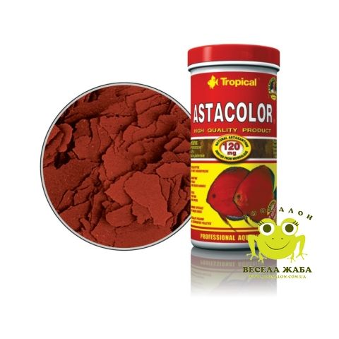 Корм Tropical Astacolor в виде хлопьев для всех видов дискусов