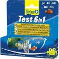 Тест для воды Tetra Test 6 in1