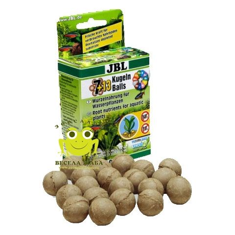 Удобрение JBL Die 7+13 Kugeln 20 шариков