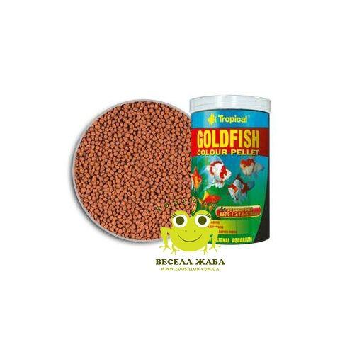 Корм Tropical Goldfish Color Pellet в виде шариков для окраски золотых рыбок
