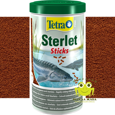 Корм Tetra Pond Sterlet Sticks 1л