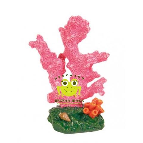Декорация для аквариума Trixie коралл цветной 7 см