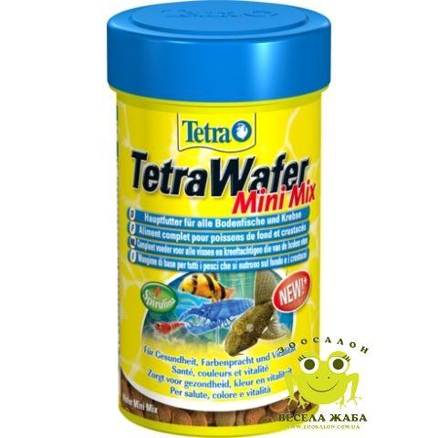 Корм Tetra Wafer Mini Mix 100 мл