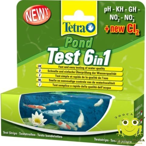 Акция сезона. Тест для пруда Tetra POND Test Set 6 in1