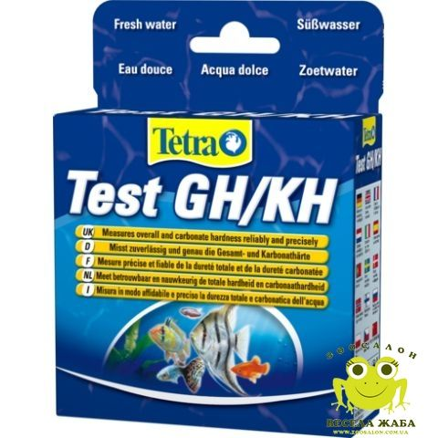 Тест на общую и карбонатную жесткость TetraTest GH/KH
